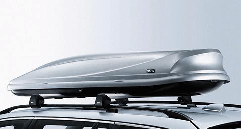 BMW Dachbox 460 silber